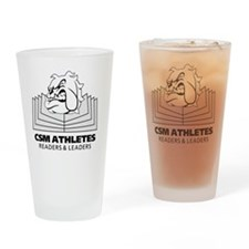 Readers-logo-BIG Drinking Glass