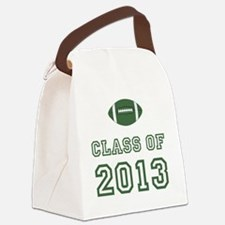Class Of 2013 Football Green 1 Canvas Lunch Bag