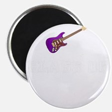 Class Of 2018 Guitar White 1 Magnet