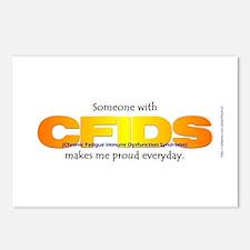 CFIDS Pride Postcards (Package of 8)