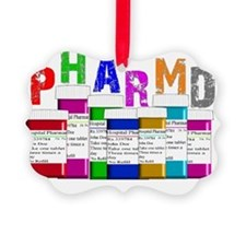 pharm D multi bottles 1 Ornament
