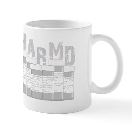 PharmD multi bottles GREY Mug