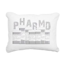 PharmD multi bottles GRE Rectangular Canvas Pillow