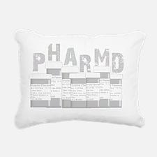 PharmD multi bottles GRE Rectangular Canvas Pillow