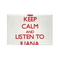 Keep Calm and listen to Iliana Magnets