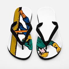 power lineman electrician repairman Flip Flops