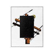 power lineman electrician repairman Picture Frame