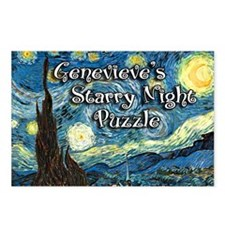 Genevieves Postcards (Package of 8)