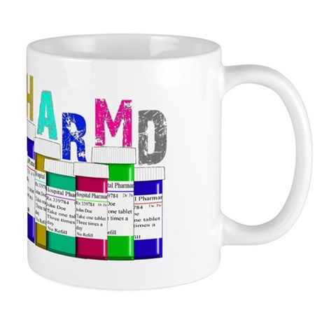 Pharm D Multi bottles 2 Mug