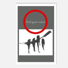 FIND YOUR VOICE Postcards (Package of 8)