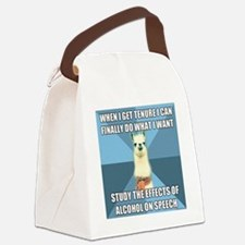 scaledalcohol Canvas Lunch Bag