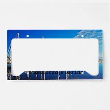 Palmetto 14x6 License Plate Holder