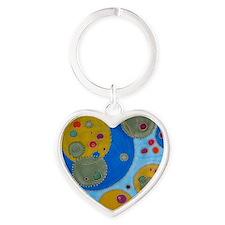 Odra Noel origen of life Heart Keychain