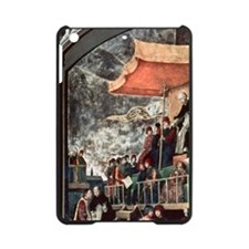 Auto de Fe chaired by St. Dominic d iPad Mini Case