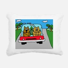 SAC.DriveTime.puzzle Rectangular Canvas Pillow