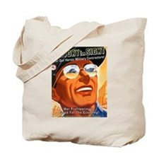 Victory in Sight Tote Bag
