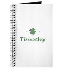 """Shamrock - Timothy"" Journal"