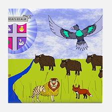 sar_amber_plains.puzzle Tile Coaster