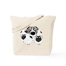 BlueMerleHerdingDk Tote Bag