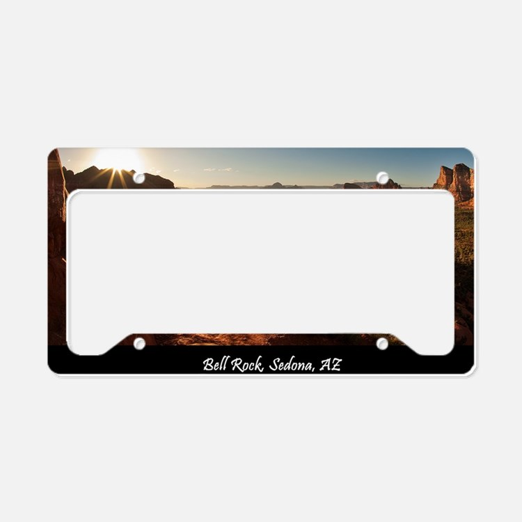 BELL ROCK VIEW MOUSEPAD License Plate Holder