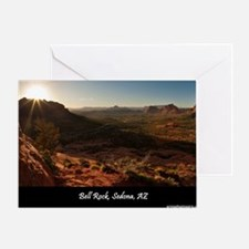 BELL ROCK VIEW MOUSEPAD Greeting Card