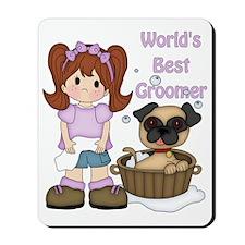 Worlds Best Groomer 3 Mousepad