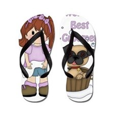 Worlds Best Groomer 3 Flip Flops