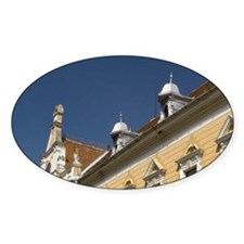 The court house of Brasov city Decal