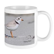 JULY 7 2011 PIPING PLOVER IMG_3583 text Small Mug
