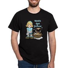 Worlds Best Groomer (2) T-Shirt