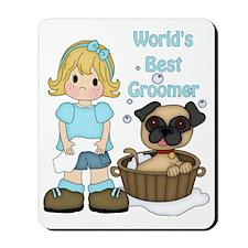 Worlds Best Groomer (2) Mousepad