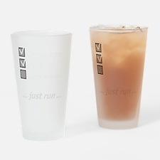 toenail_checklist3_dark Drinking Glass