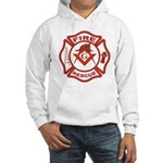 S&C Wearing the Fire Fighters Hat Hooded Sweatshir