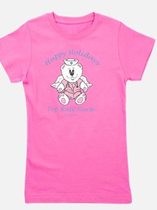 female-pink-xmas-o Girl's Tee
