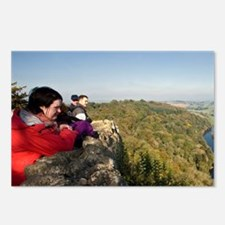 England Wales Border at S Postcards (Package of 8)