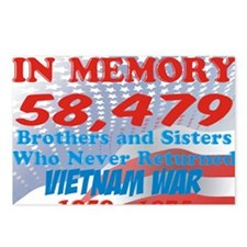 In memory Viet nam Brothe Postcards (Package of 8)