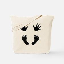 NewestBabyHandsandFeet3 Tote Bag