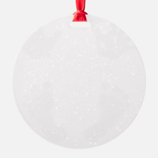 NewestBabyHandsandFeet3White Ornament