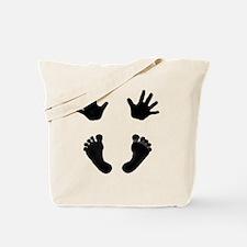 NewestBabyHandsandFeet2 Tote Bag