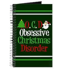 Green Christmas Journal