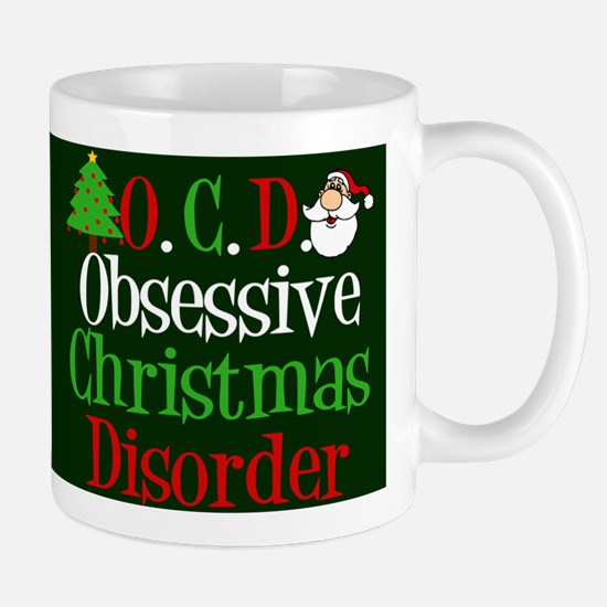 Green Christmas Mug