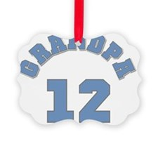 12BLUEGRANDPA Ornament