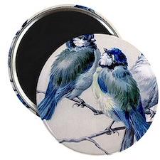 blue birds Magnet