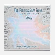 Precious Stuff & BundeArt 07 ROCKS Tile Coaster