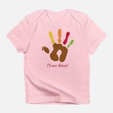 Personalized Turkey Hand Infant T-Shirt
