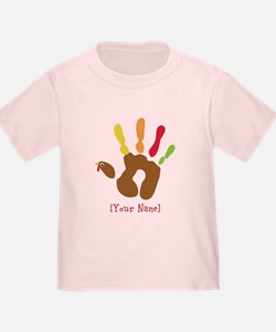 Personalized Turkey Hand T