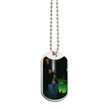 busker johnnie Oval Dog Tags