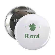 """""""Shamrock - Raul"""" Button"""