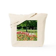 KMS_FlowersPond_FF2 Tote Bag