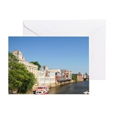 England. York was a city enclosed co Greeting Card